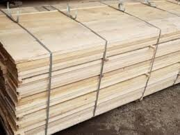 Ash Edged Lumber KD